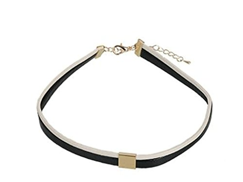Gnzoe Vintage Collar Punk Goth Leather Choker Necklace(Price For One (Outdoorsman Halloween Costume)