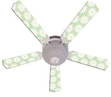 52 yellow ceiling fan - 9