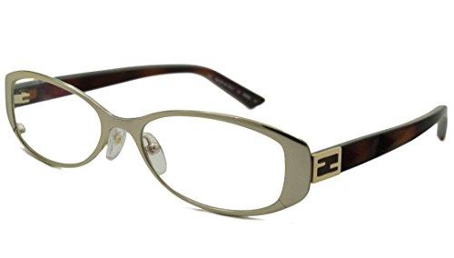 Fendi Rx Eyeglasses - F899 Gold Havana / Frame only with demo lenses.-F89971450FR