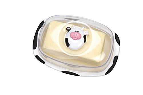 Joie Moo Moo Butter Keeper, Cow Butter (Best Msc Butter Dishes)