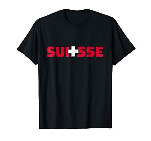 - Suisse switzerland flag T-Shirt
