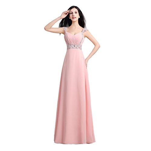 Vimans Damen A-Linie Kleid Rosa - Pink eO7WBlCNQ