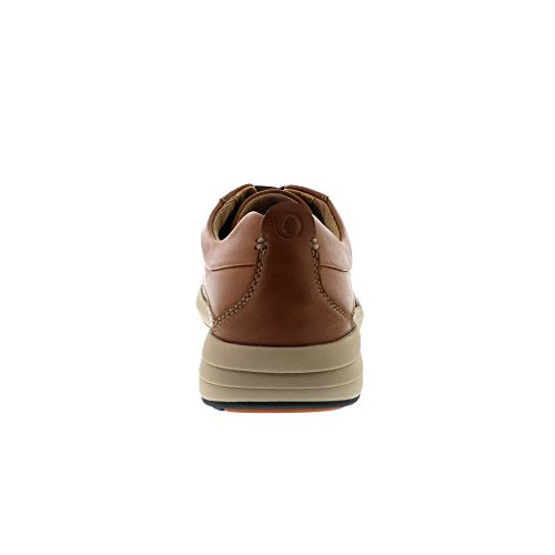 Clarks Coast Plain - Dark Tan Leather