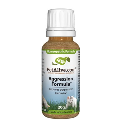 Petalive Aggression Formula – Natural Remedy For Stressed And Aggressive Pets, My Pet Supplies