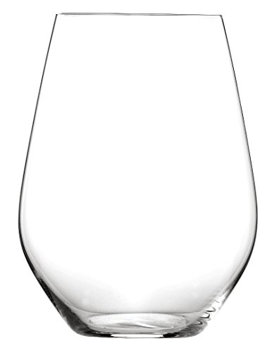 Spiegelau Authentis Casual Stemless Bordeaux Wine Glass, Set of 4 ()
