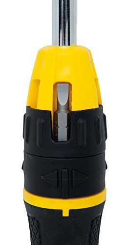 076174680102 - Stanley 68-010 Multibit Ratcheting Screwdriver with 10 Assorted Bits carousel main 6
