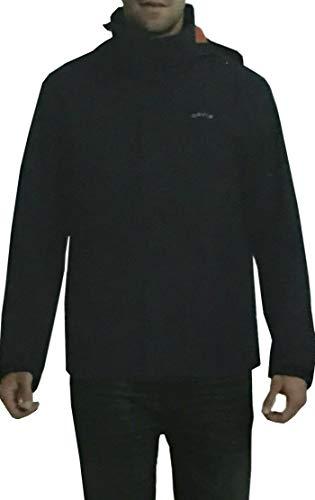 (Orvis Men's Wahoo Waterproof Hooded Jacket (Navy,)