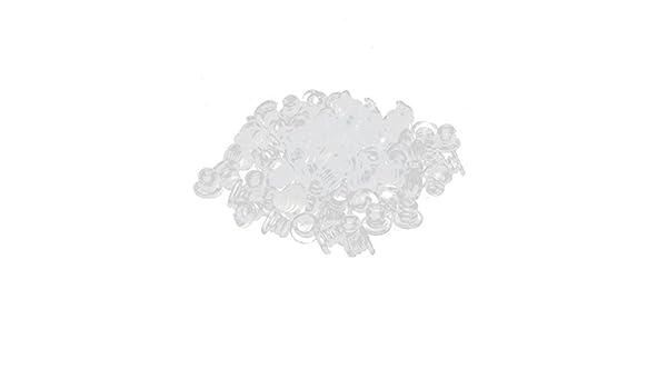 Amazon.com : eDealMax de goma domésticos gabinete de Los muebles de mesa Parachoques Madre Suave 5mm 100pcs Dia Claro : Baby