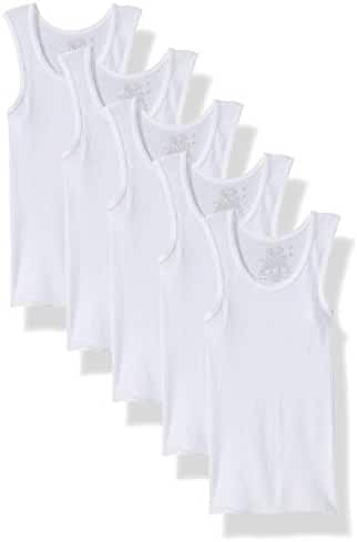 Fruit of the Loom Little Boys' A-Shirt (Pack of 5)