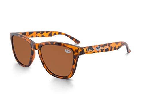 Gafas de sol MOSCA NEGRA ® modelo ALPHA SPLASH Brown Leopard ...