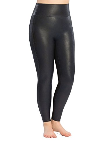 65c58dcfc0de32 SPANX Plus Size Ready-to-Wow Faux Leather Leggings, 1X, Night Navy