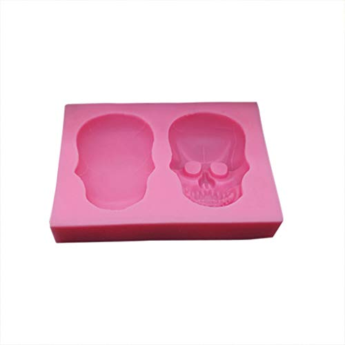 Halloween Movie Michael Myers Song (Sharon Church Halloween Skull Silicone Fondant Cake Mould Baking Tool Liquid Resin)