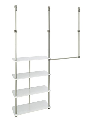 ClosetMaid 55300 Closet Maximizer, White (Closetmaid Closet Organizers)