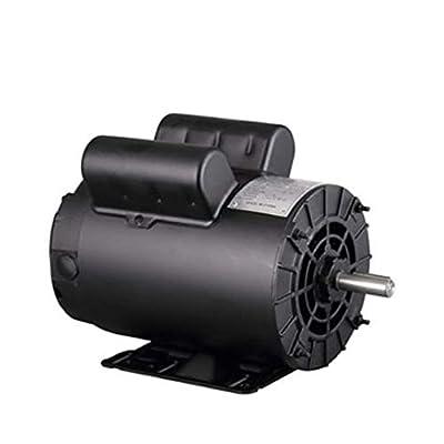 5HP SPL 3450 RPM Air Compressor 60Hz Single Phase Electric Motor 208-230 Volts