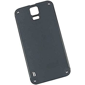 sports shoes 875ce 05c4a SOMEFUN Back Cover Rear Battery Door Housing Replacement for Galaxy S5  Active G870 G870A Gray