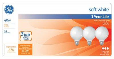 Lighting 44742 40 Watt White Globe