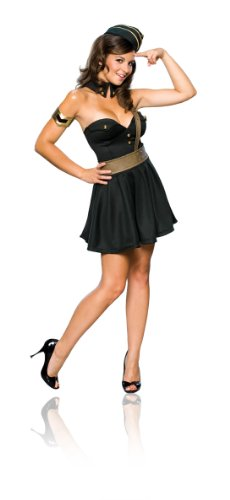 Secret Wishes  Costume Major Bombshell Women's Costume, Green, X-Small (Military Halloween Costumes For Womens)