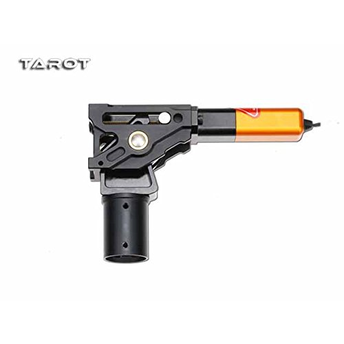 Tarot-RC TL4N004 75 Degree Metal CNC Large Scale Electric Retractable Landing Gear Skid Tripod 30KG Load for DIY Aircraft