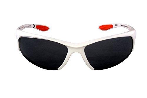 Foster Grant STRONG IRONMAN FG57 Men's Wrap Style Sports White Sunglasses CAT - Sunglasses Ironman 3