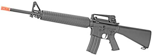 A K M16 A3 Verion 2 Metal Gear Box Airsoft Gun