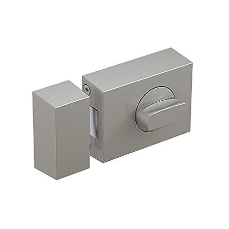 Basi® Kastenzusatzschloss KS500 Tür-Zusatzschloss verschiedene Farben Sicherheitsschloss 1303-0205, Silber