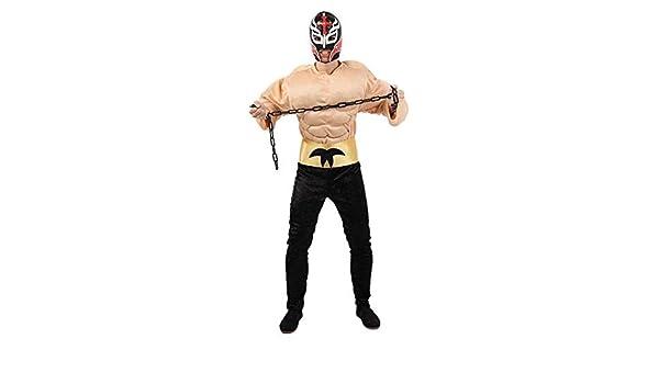 DISBACANAL Disfraces de Pressing Catch Luchador Mejicano - Único, XL: Amazon.es: Juguetes y juegos