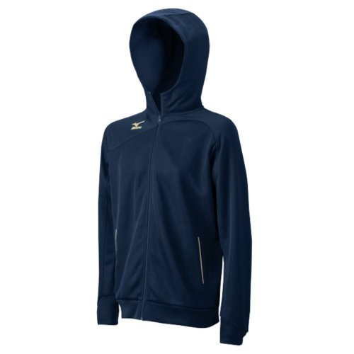 Mizuno Men's Pro Warm Up Jacket, Navy/Silver, Medium