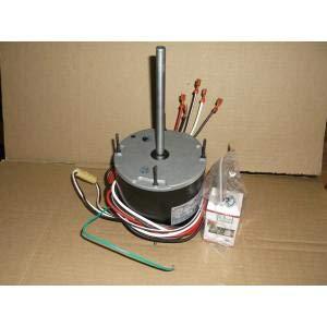 Century Permanent Split Capacitor Direct Drive Motor, 1/3 to 1/5 HP, 1001-1100 RPM Range 208-230V, CW/CCW