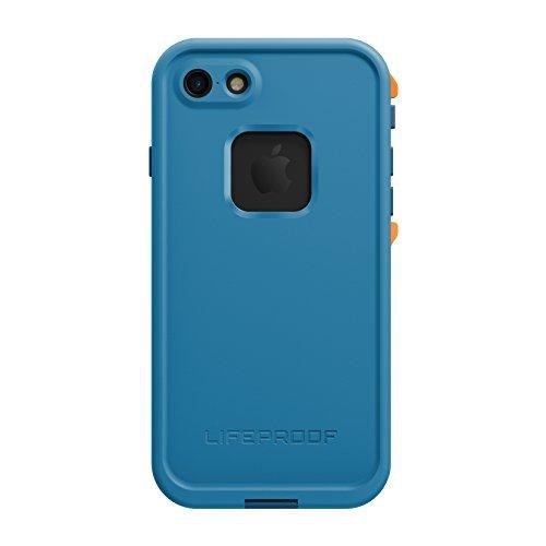 Lifeproof FRĒ SERIES Waterproof Case for iPhone 7 (ONLY) - Retail Packaging - BASE CAMP BLUE (COWABUNGA BLUE/WAVE CRASH/MANGO TANGO) - Rough Waves