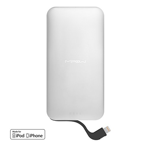 MiPow 5000mAh Portable Charge for Mobile Phones and Tablets - Silver