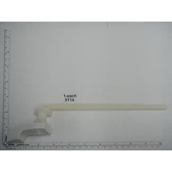 Briggs Genuine Part 5114 Plastic Trip Lever In White