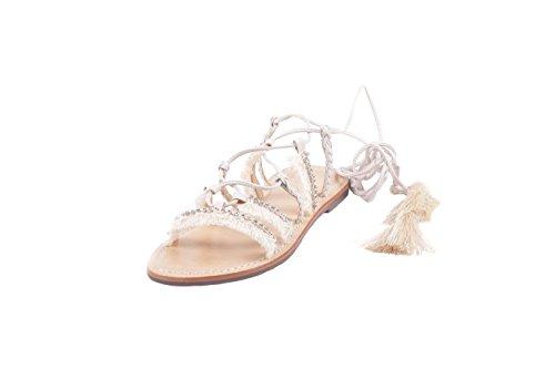 Schutz Femme S042370151 Blanc Cuir Sandales