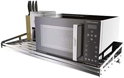 Estantes de horno de microondas de cocina de acero ...