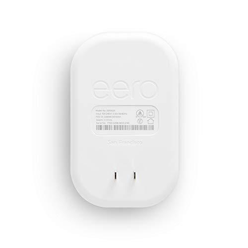 Amazon eero Beacon mesh WiFi range extender (add-on to eero WiFi systems)