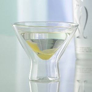 Double Wall Martini Glass - 1