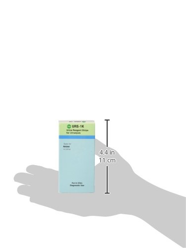 URS Urinalysis Strips For Ketone - 100 ea