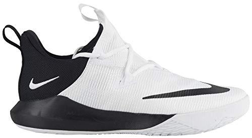 Nike Men's Zoom Shift 2 TB White/Black-White Basketball Shoes US 12 ()