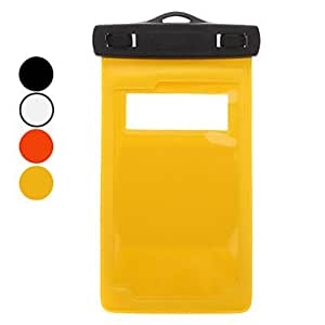 DUR Waterproof Bag with Necklace Type Accessory for All Phone Player , Orange