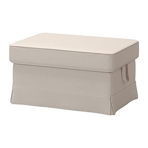 Ikea Cover for ottoman, Lofallet beige 1428.8520.3810 (Couch Cover Ottoman)