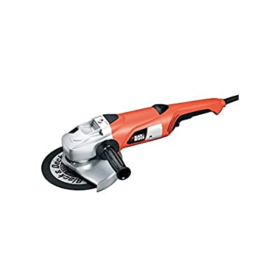 Bundle 2 Items: Black & Decker KG2300K Large Angle Grinder, Acucraft Acupwr Plug Kit, WILL NOT WORK IN USA/CANADA OUTLETS, 220VOLT