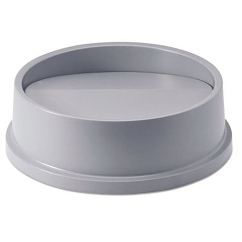 (Rubbermaid Commercial Products RCP 2672 GRA Untouchable Round Top - Gray)