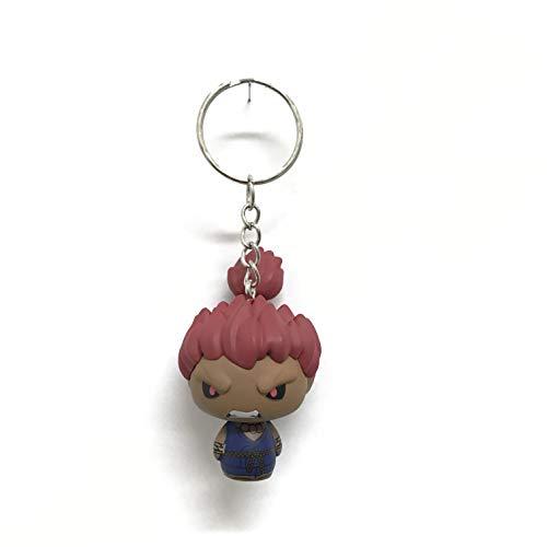 Custom Pint Size Heroes Street Fighter Akuma Keychain