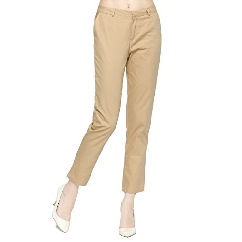 FCLM Women's Cotton Casual Slim Pure Col - Pencil Cotton Women Trousers Shopping Results