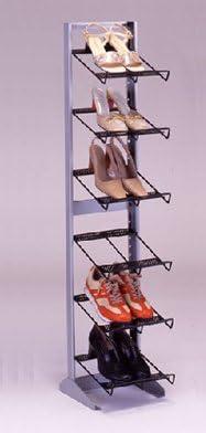 【靴屋さんの】シューズラック6段スリム