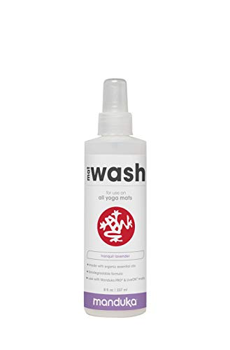 Manduka Organic Yoga Mat Cleaner, 8 oz,
