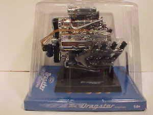 BHCAT Ford Dragster Engine Die-cast 1:6 Liberty Classic 6 inch x 4 inch 84028