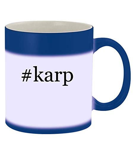 #karp - 11oz Hashtag Magic Color Changing Mug, Blue