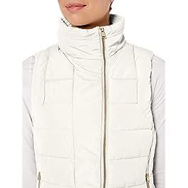 Calvin Klein Women's Asymmetrical Zip Puffer Vest