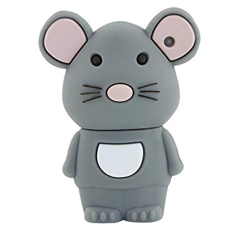 Aneew 16GB Pendrive Cartoon Mouse Model Animal Cute USB Flash Drive Memory Stick U Disk Thumb Gift