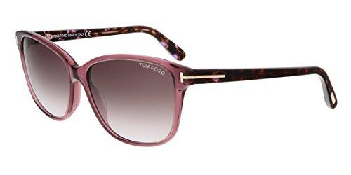 Tom Ford FT0432 71T DANA Purple Rectangular - Sunglasses Purple Tom Ford